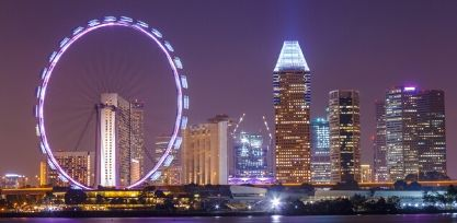 Go on the Singapore Flyer