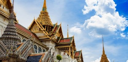Marvel at the Grand Palace in Bangkok
