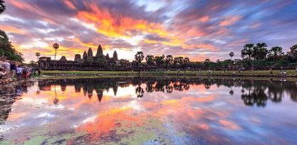 Watch the Sunrise at Angkor Wat