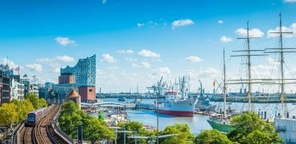 Explore the Historic Port of Hamburg