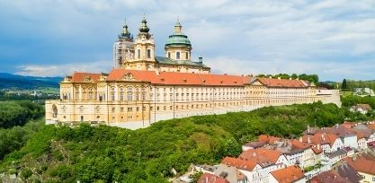 See the Stunning Melk Benedictine Abbey