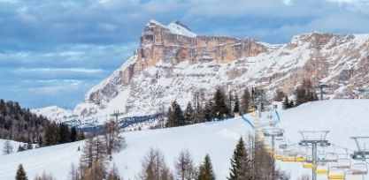 Go Skiing in the Dolomites
