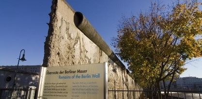 See the Iconic Berlin Wall