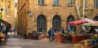 Get Lost in the Colorful Markets at Aix-en-Provence