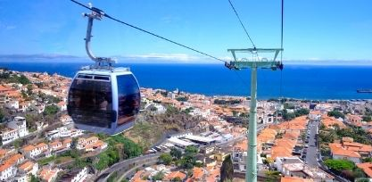 Cable Car Down to Faja dos Padres in Madeira