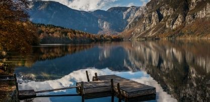 Untouched Lake Bohinj