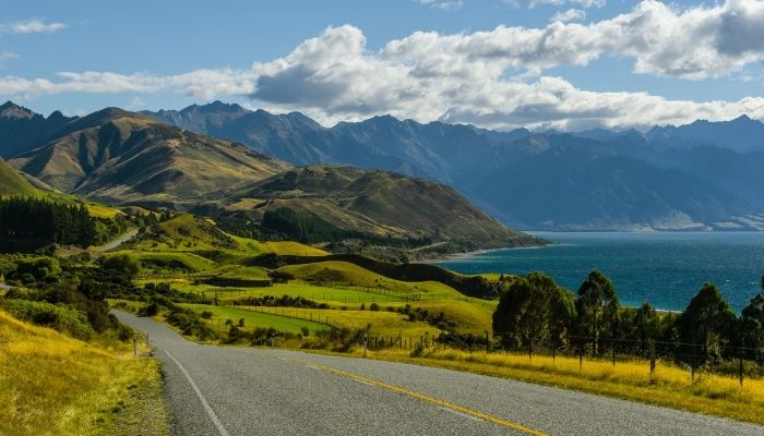 Southern Scenic Route, New Zealand