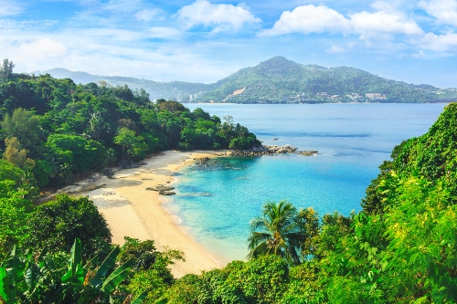 Wide view of Phuket