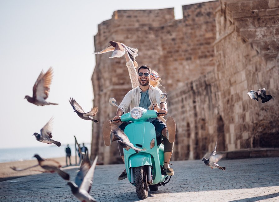 Europe Tour Scooter