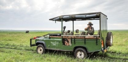 Game drive Little Governors Camp, Kenya