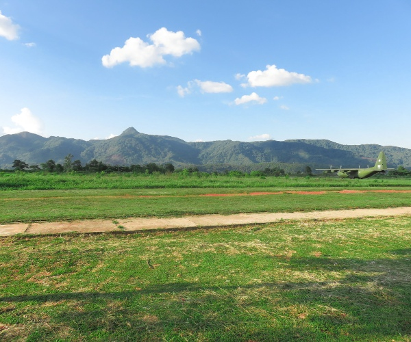 Former Khe San Airfield, Quang Tri Province