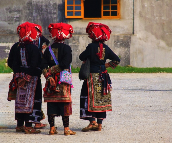 Red Dao Villagers, Ha Giang Province, Vietnam