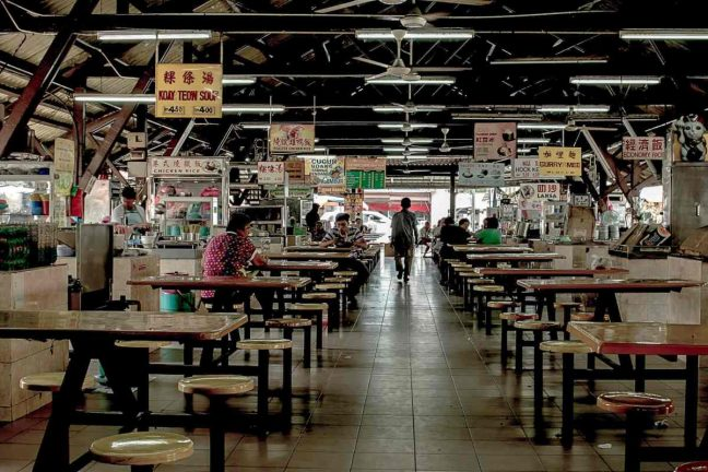 Hawker center, George Town, Penang